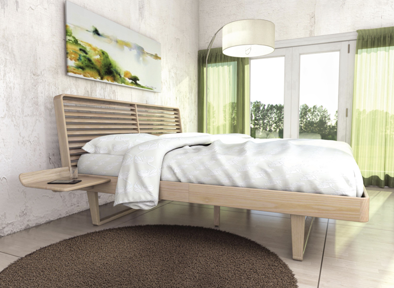 Today's interior design trends mix natural elements like our Contour bedroom furniture and these faux finishes