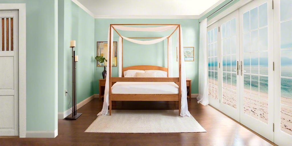 Shaker 4 Poster Bed | Customize it at Vermont Woods Studios