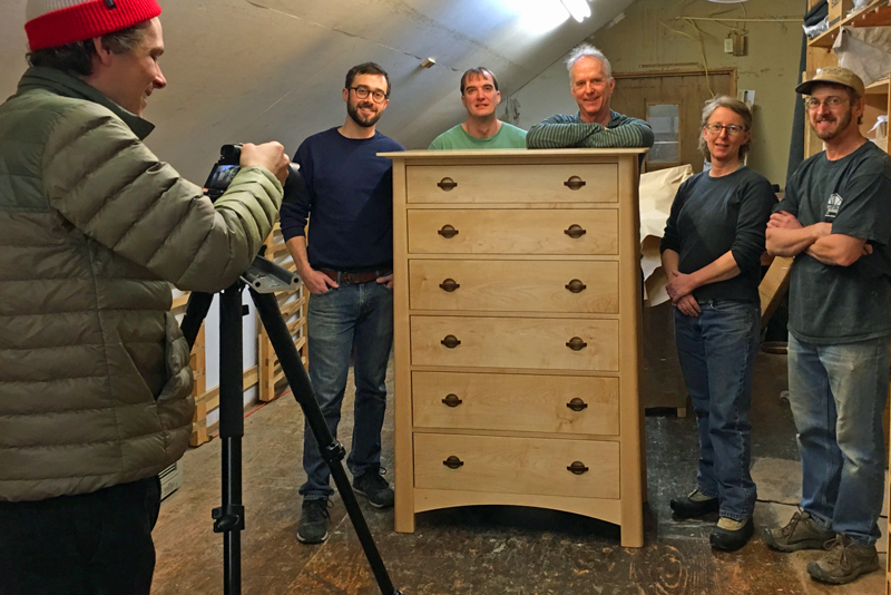 Videos of Vermont Furniture Makers