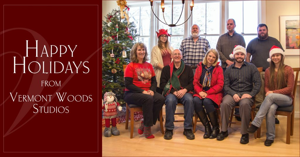 Vermont in Winter   Merry Christmas from Vermont's Favorite Furniture Store