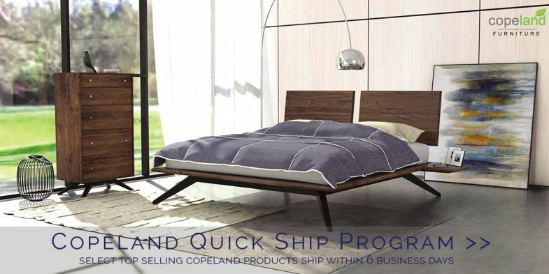 Copeland Furniture Sale | Astrid Bed | 30% off MSRP | Quick Ship