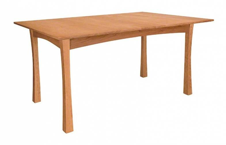Contemporary Craftsman Dining Table | Handcrafted in Solid Cherry Wood