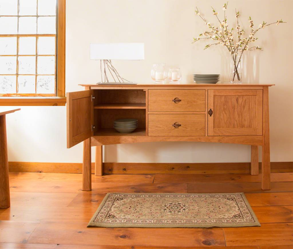 Cherry Moon Huntboard High End Dining Furniture Handmade In Vermont