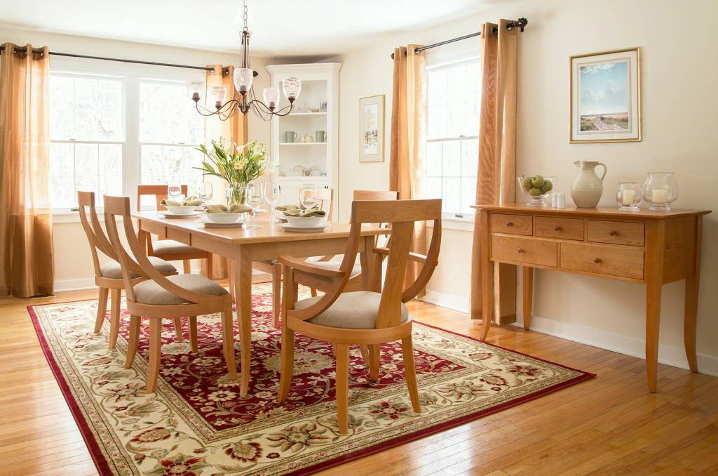 French Country Dining Set | High End Furniture Shopping | Vermont Woods Studios