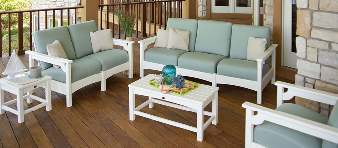 Deep Seating Patio Furniture. Club Furniture. POLYWOOD Recycled Plastic Outdoor Furniture