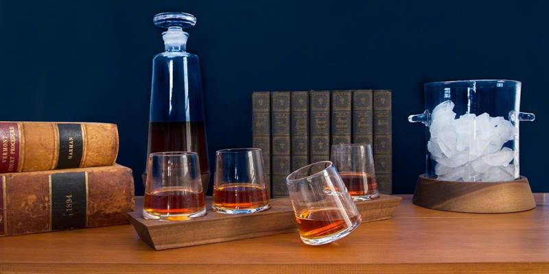 Find the Ultimate Fathers Day Gifts | Vermont Woods Studios |Ludlow Collection | Whiskey Glasses