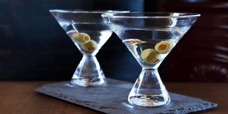 Westport Martini Glass by Simon Pearce | Vermont Woods Studios | Ultimate Fathers Day Gifts