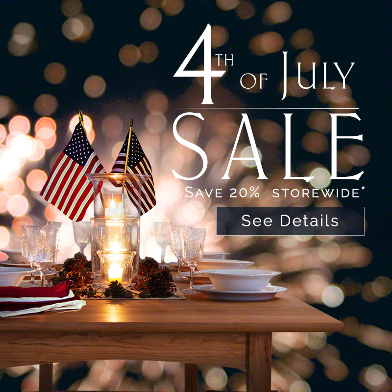 4th of July Furniture Sale | Vermont Woods Studios