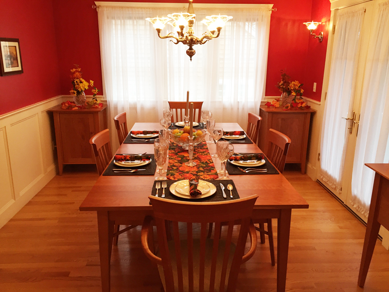 Finding the Best Furniture Stores | Customer Reviews | Cherry Dining Set | Vermont Woods Studios