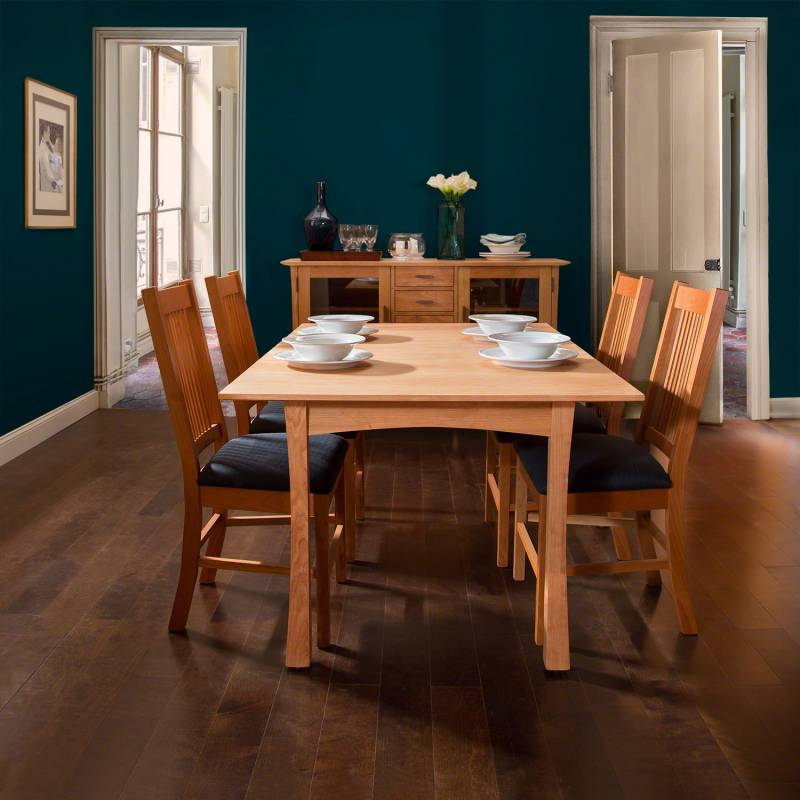 Contemporary Craftsman dining furniture