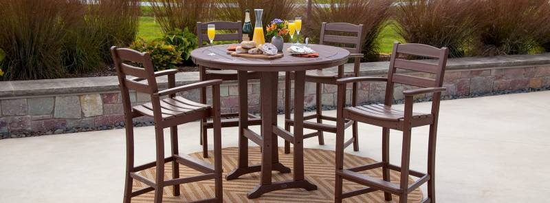 Polywood La Casa Dining Sets | Best Outdoor Furniture Spaces | Vermont