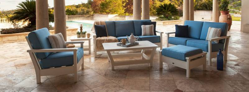 Creating the Best Outdoor Furniture Spaces | Polywood Deep Cushion Seating