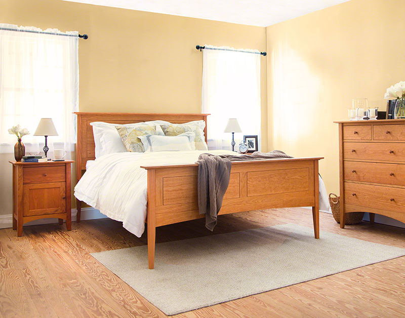 American Shaker Panel Bed
