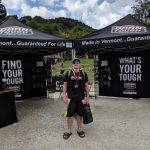 Darn Tough tent at the 2018 Killington Spartan Race weekend