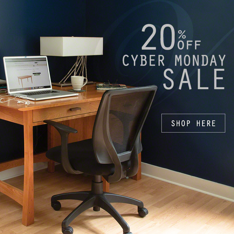 Cyber Monday & Black Friday Furniture Sale | Save 20% | Vermont Woods Studios