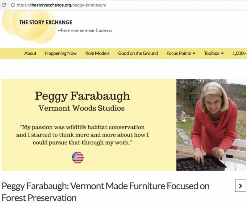 Vermont Made Furniture | Forest Conservation | The Story Exchange