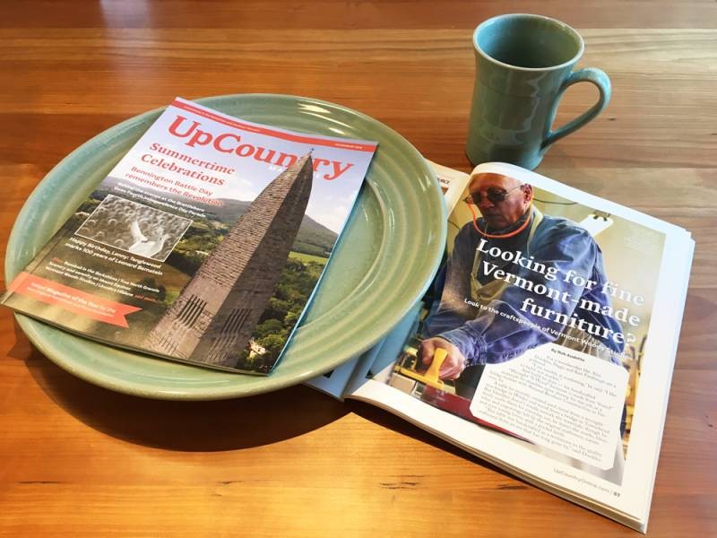 Press Coverage | UpCountry Magazine | Vermont Woods Studios Craftspeople