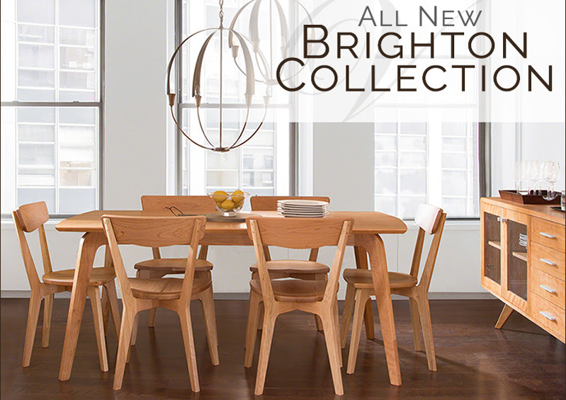 New Furniture Collections | Brighton | Handmade with Love in VT