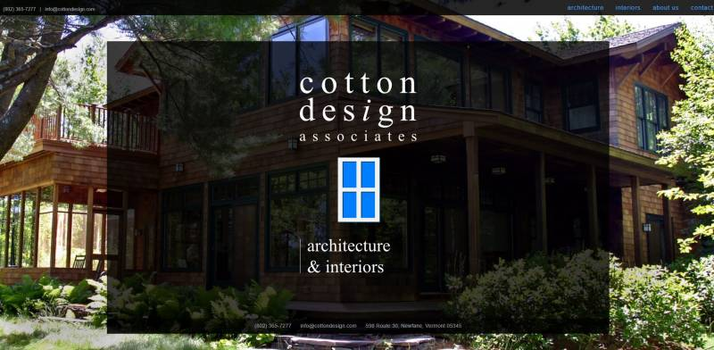Cotton Design Associates based in Newfane, Vermont