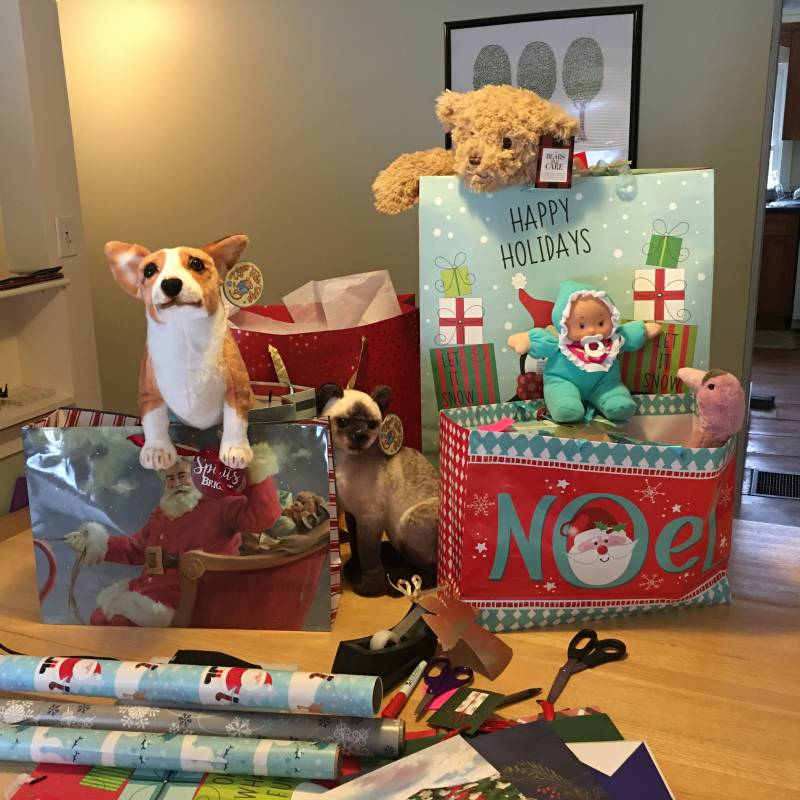Gifts for local kids and seniors during the holiday season