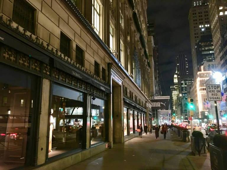 Custom Furniture for L'Avenue and Le Chalet on top of Saks 5th Avenue in New York City