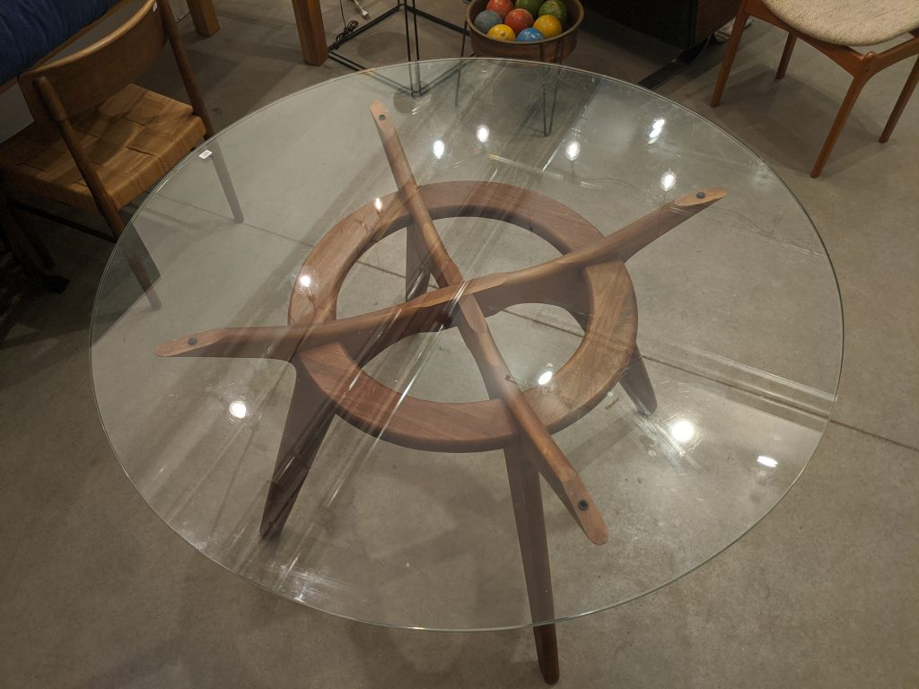 Adrian Pearsall's Compass Dining Table
