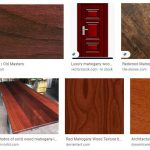 Google Images search results for mahogany wood showing color & grain