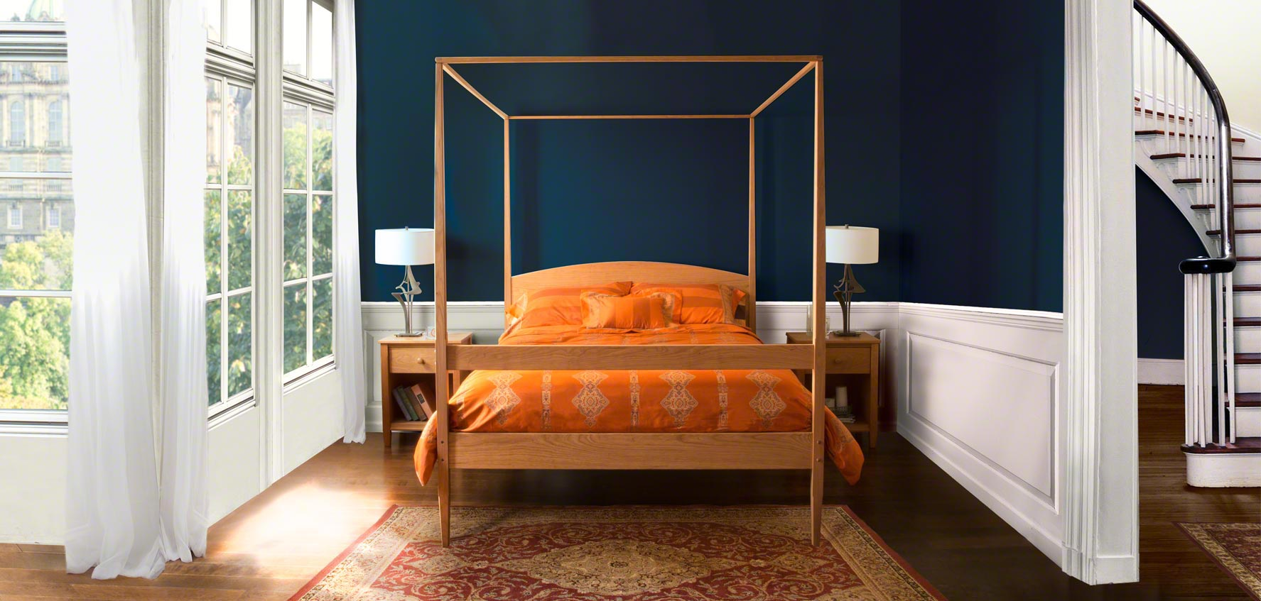 Shaker Bedroom Furniture | Award for Sustainably Harvested Wood