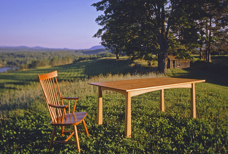 Sustainable Wooden Dining Furniture Set
