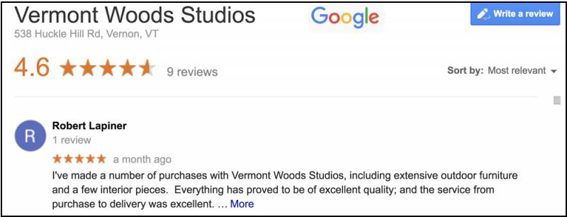 Buy Vermont Made Furniture Direct | Honest Reviews | Vermont Woods Studios