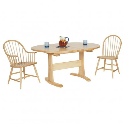 Oval Trestle Table #2