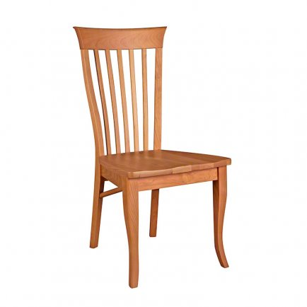 Classic Shaker Side Chair #2 - Scooped Wooden Seat - Floor Model