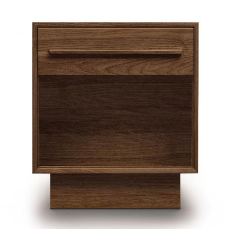 Moduluxe 1-Drawer Enclosed Shelf Nightstand