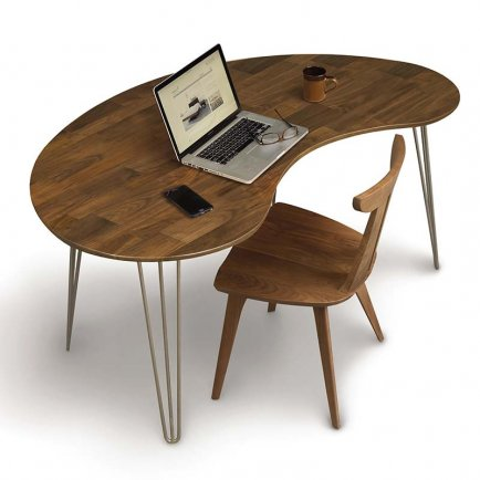 Essentials Kidney Shaped Desk
