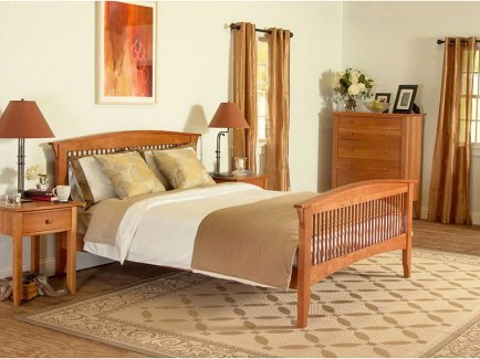 Green Mountain Bedroom Furniture Set Vermont Woods Studios