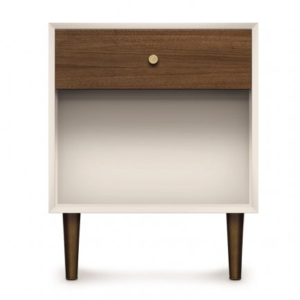 MiMo 1-Drawer Enclosed Shelf Nightstand