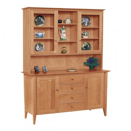 Classic Shaker Large Buffet & Hutch