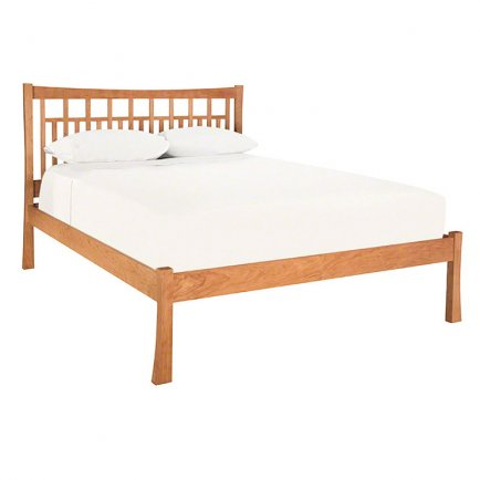 Contemporary Craftsman Low Footboard Bed