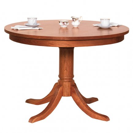 Duncan-Phyfe Round Pedestal Dining Table