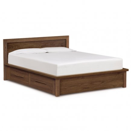Moduluxe Storage Bed with Panel Headboard