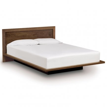 "Moduluxe Platform Bed with Panel Headboard - 35"" Series"