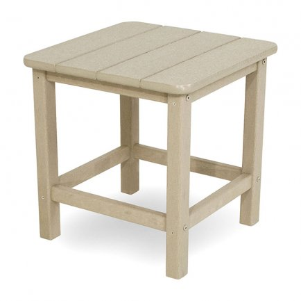 "Seashell 18"" Square Outdoor Side Table"