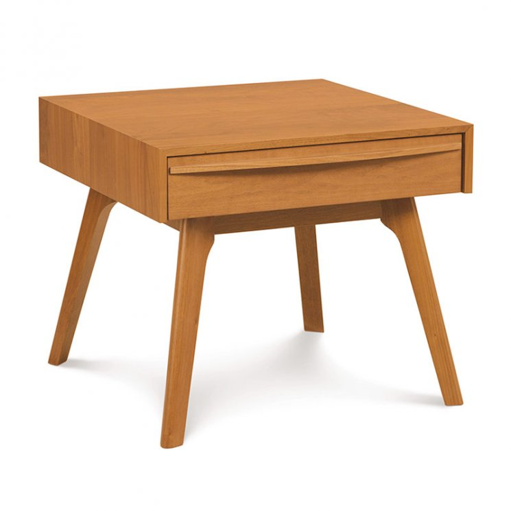 Catalina Cherry 1-Drawer Nightstand