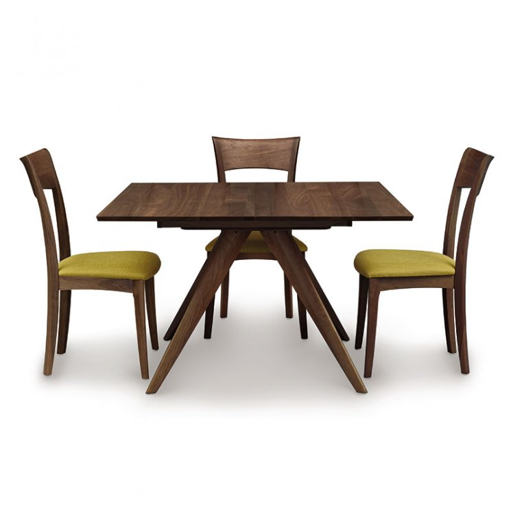 Catalina Walnut Square Extension Dining Table