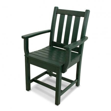 Traditional Garden Outdoor Dining Arm Chair
