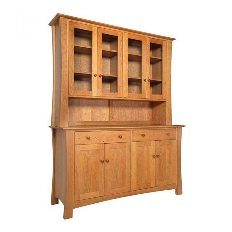 Andrews Natural Cherry Buffet & Hutch