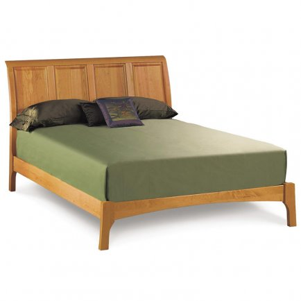 Sarah Sleigh Bed - Low Footboard