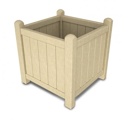 "Outdoor 16"" Square Garden Planter"