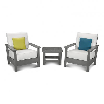Harbour 3-Piece Deep Seating Set