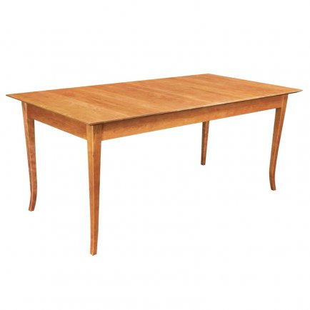Classic Shaker Flare Leg Dining Table